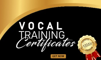 VOCAL TRAINING CERTIFICATES
